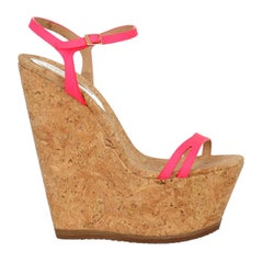 Dsquared2 Woman Wedges Beige Eco-Friendly Fabric IT 36