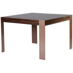 DT-33 Dining Table with Metal Legs by Antoine Proulx