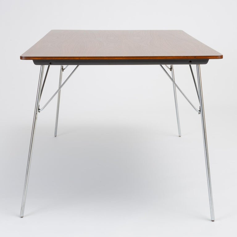 DTM-10 Rectangular Dining Table by Ray & Charles Eames for Herman Miller For Sale 6