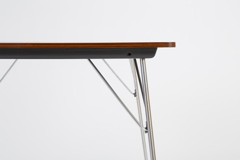 DTM-10 Rectangular Dining Table by Ray & Charles Eames for Herman Miller For Sale 8