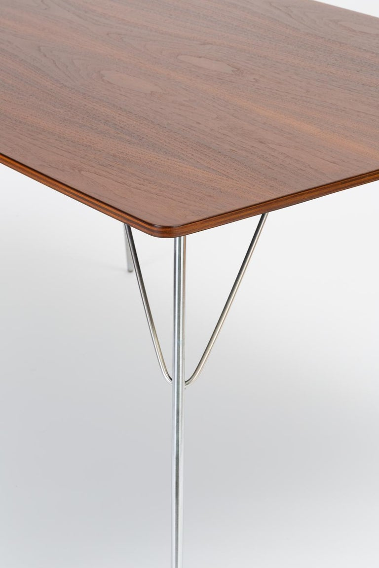 DTM-10 Rectangular Dining Table by Ray & Charles Eames for Herman Miller For Sale 9