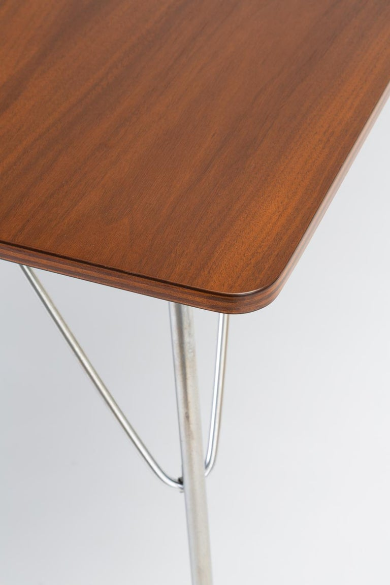 DTM-10 Rectangular Dining Table by Ray & Charles Eames for Herman Miller For Sale 11
