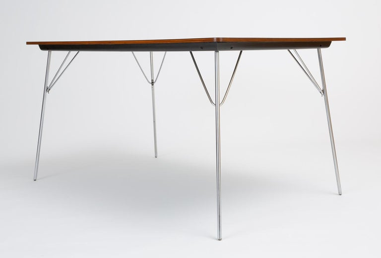 Mid-Century Modern DTM-10 Rectangular Dining Table by Ray & Charles Eames for Herman Miller For Sale