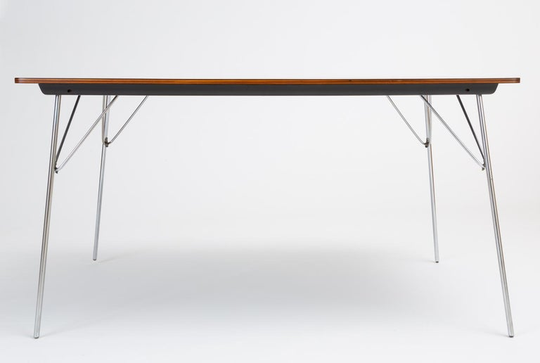 American DTM-10 Rectangular Dining Table by Ray & Charles Eames for Herman Miller For Sale