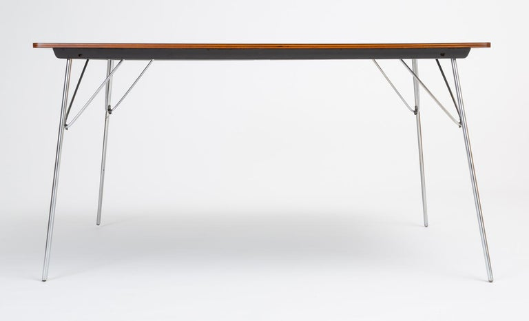 DTM-10 Rectangular Dining Table by Ray & Charles Eames for Herman Miller In Excellent Condition For Sale In Los Angeles, CA