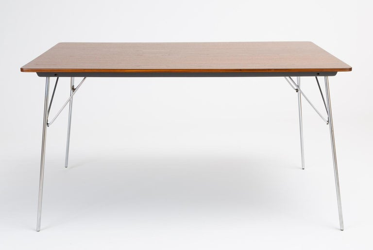 Steel DTM-10 Rectangular Dining Table by Ray & Charles Eames for Herman Miller For Sale