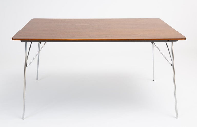 DTM-10 Rectangular Dining Table by Ray & Charles Eames for Herman Miller For Sale 1