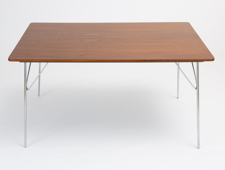 DTM-10 Rectangular Dining Table by Ray & Charles Eames for Herman Miller For Sale 2