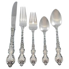 Du Barry by International Sterling Silver Flatware Set for 8 Service 40 Pcs