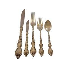 Du Barry by International Sterling Silver Flatware Set Service 66 Pcs Dinner
