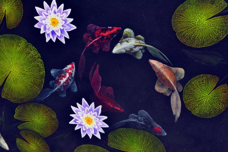 Koi Pond by Duane Armstrong 1