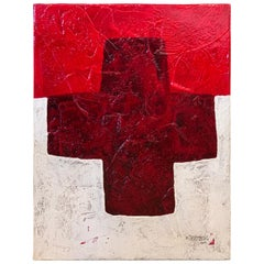 "Duane Armstrong Oil ""Red Cross"""