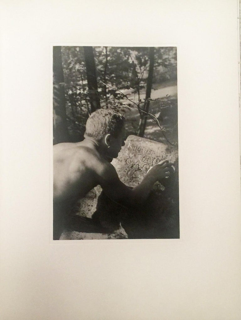 A TRIBUTE TO CAVAFY - A SELECTION OF POEMS WITH PHOTOGRAVURES BY DUANE MICHALS - Photograph by Duane Michals