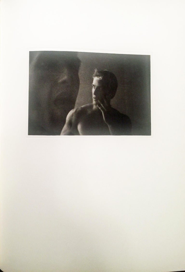 A TRIBUTE TO CAVAFY - A SELECTION OF POEMS WITH PHOTOGRAVURES BY DUANE MICHALS - Beige Figurative Photograph by Duane Michals