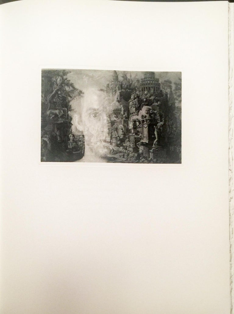 Cavafy, Constantine. A TRIBUTE TO CAVAFY - A SELECTION OF POEMS WITH PHOTOGRAVURES BY DUANE MICHALS. Limited Editions Club, NY (2003). Large folio (13