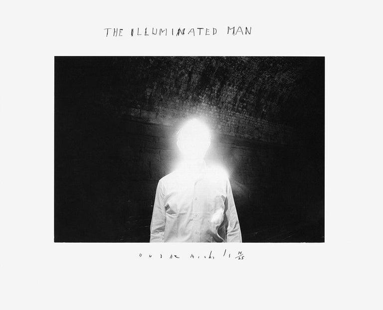 Duane Michals Figurative Photograph - The Illuminated Man
