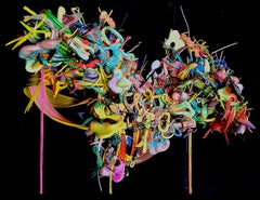 """""""An Excited Utterance Of Foreplay"""" -  Mixed Media Abstract Sculpture"""