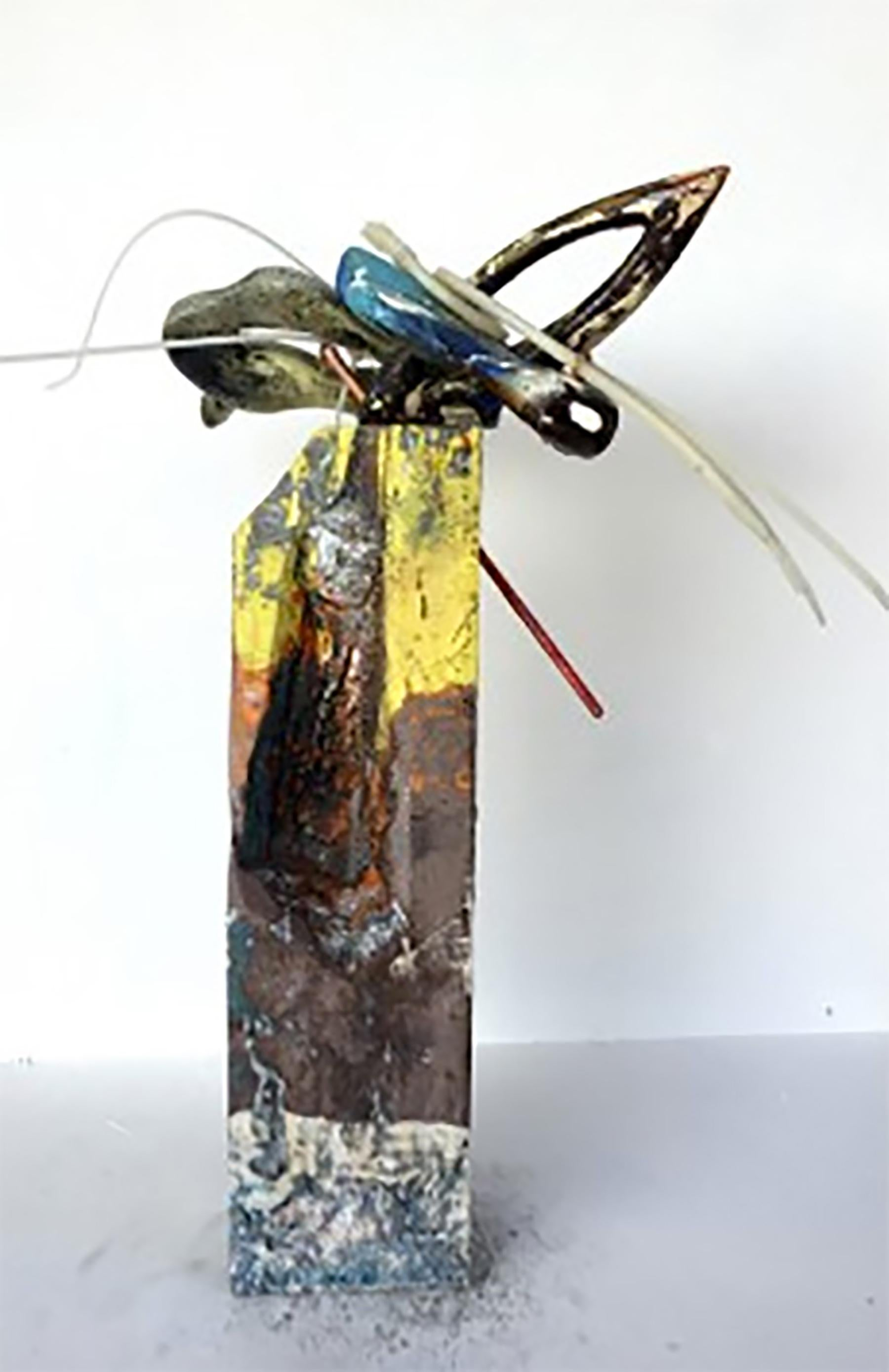 """""""Untitled Abstract Arrangement""""-  Mixed Media Abstract Sculpture"""