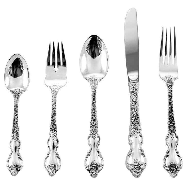 Dubarry Flatware, Service for 36 For Sale