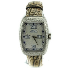 Dubey & Schaldenbrand Lady Diamond 5306, Gold Dial Certified Authentic