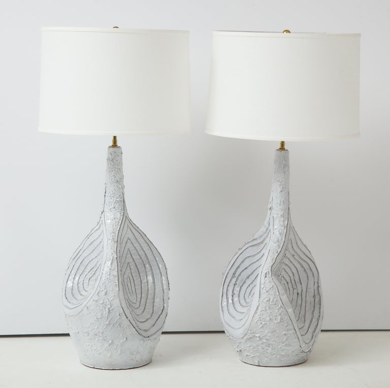 Duca Di Camastra Monumental Table Lamps For Sale 3