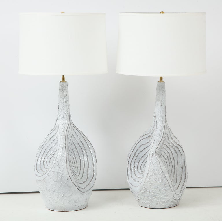 Duca Di Camastra Monumental Table Lamps For Sale 1