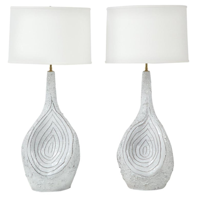 Duca Di Camastra Monumental Table Lamps For Sale