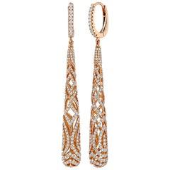 Duchess Diamond Barrel Earrings