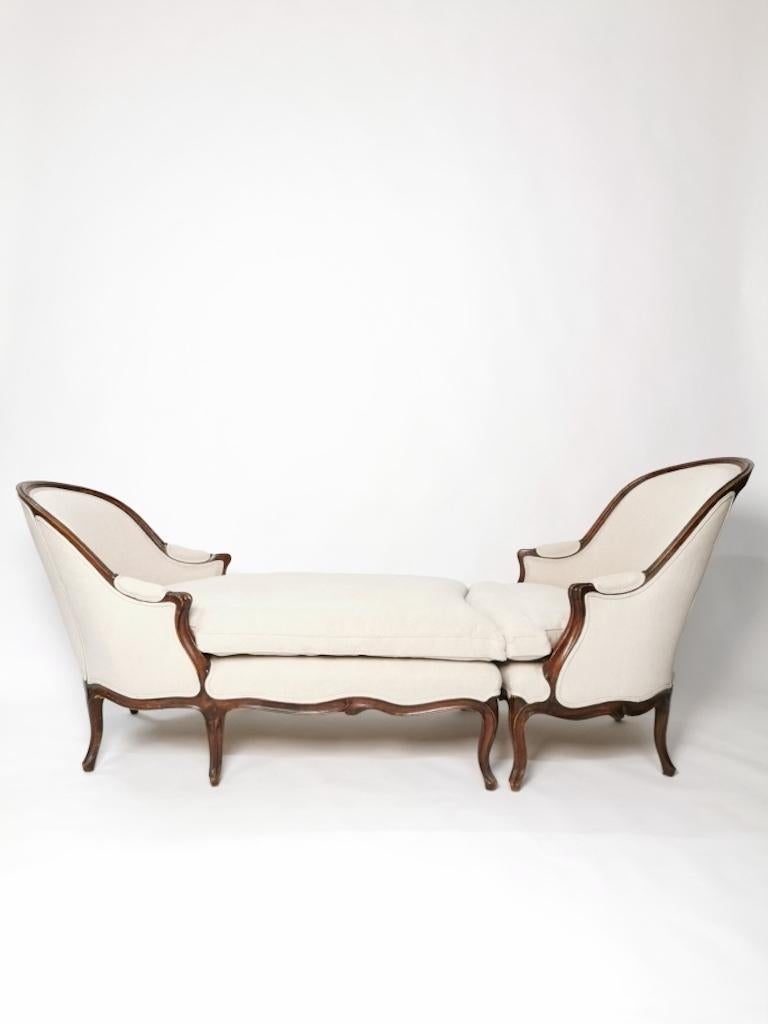 Duchesse Brisée, Louis XV, France, circa 1760 In Good Condition For Sale In , DE