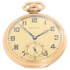 Dudley Gold Filled Masonic Model 3 Pocket Watch