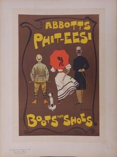 Abbotts, Boots and Shoes - Lithograph (Les Maîtres de l'Affiche), 1897