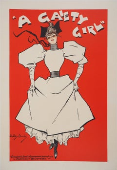 Gaiety Girl - Lithograph (Les Maîtres de l'Affiche), 1895