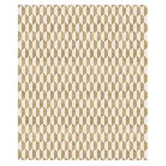 Duetto d'Oro-Modern Geometric Hand-Knotted Wool Blend-Silk Rug