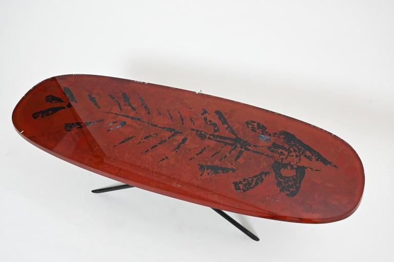 Mid-Century Modern Duilio Barnabé, Aka 'Dube' Cocktail Table for Fontana Arte For Sale