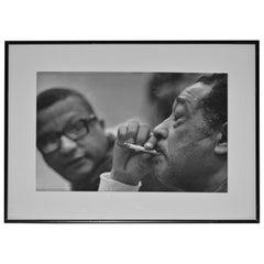 """Duke and Swee' Pea"" Photo of Duke Ellington by Don Hunstein"