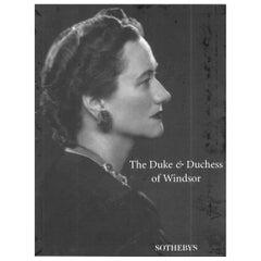 """Duke & Duchess of Windsor Sotheby's"", 1997 Sale Catalogues 'Box Set of 3'"