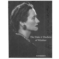 """""""Duke & Duchess of Windsor SOTHEBY'S"""" 1997 Sale Catalogues"""