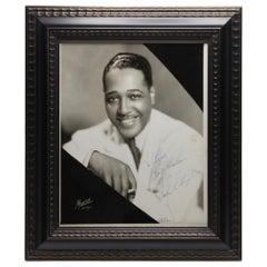 Duke Ellington Signed Photograph, 1932