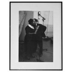 Duke Ellington with Mahalia Jackson, Photo by Don Hunstein, 1958