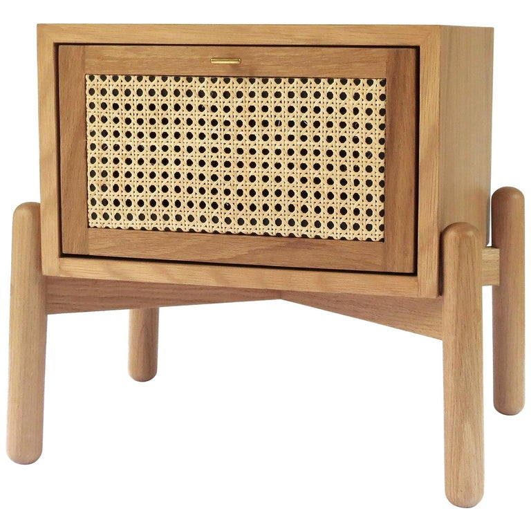 Dumas Nightstand, Contemporary Mexican Design Customized For Sale