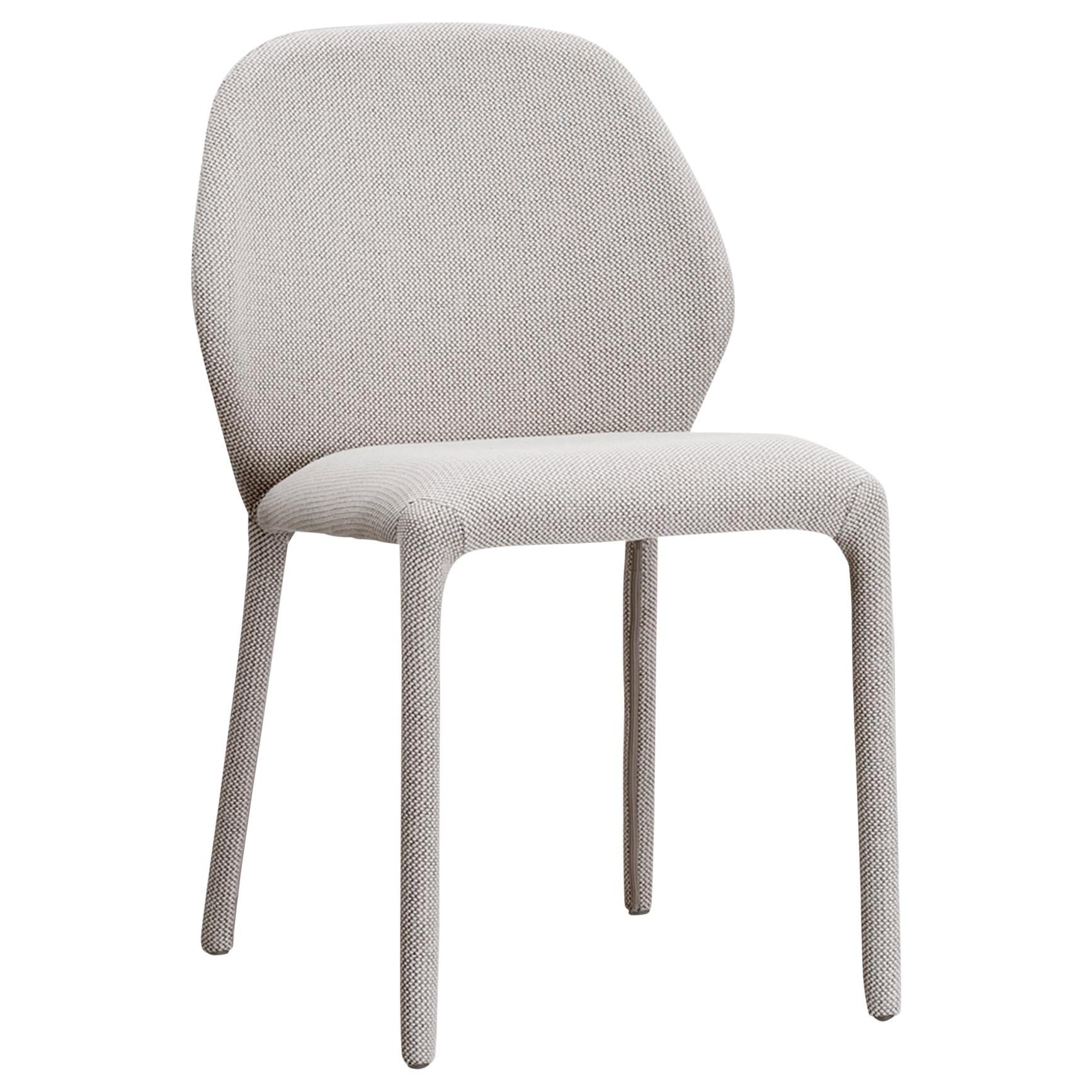 Dumbo Beige Upholstered Chair by Zaven