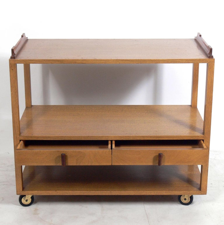 American Dunbar Bar Cart For Sale