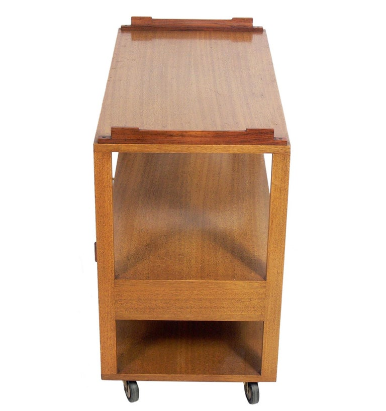Mid-20th Century Dunbar Bar Cart For Sale