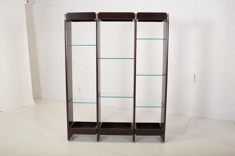 Mid-20th Century Dunbar Bookcase Wall Units by Edward Wormley For Sale