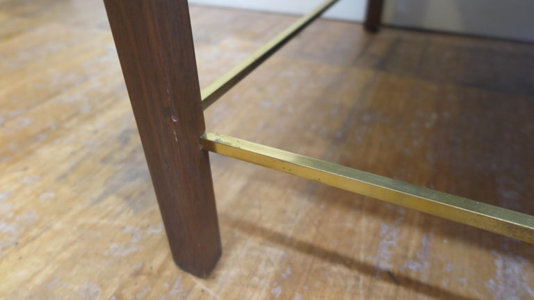 Brass Dunbar Cocktail Table For Sale