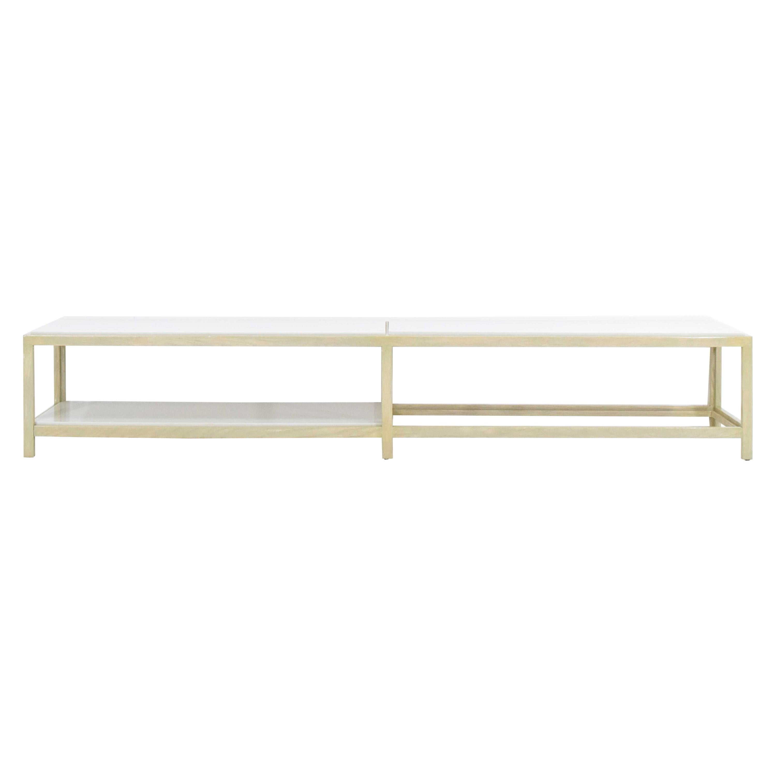 Dunbar Coffee Table or Bench in Light Ash