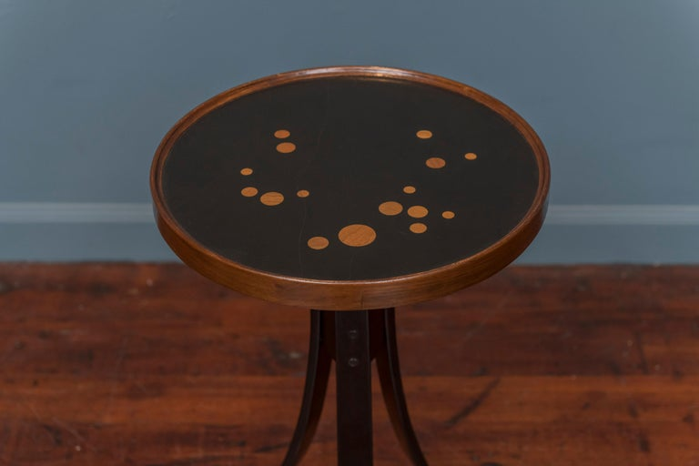 Roger Sprunger design constellation side table for Dunbar, labeled. Very good condition, Model #479.