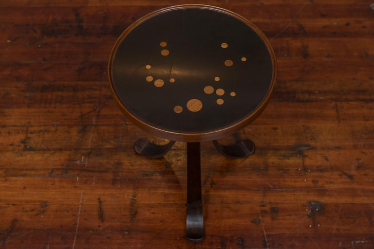 Dunbar Constellation Side Table, Model #479 In Good Condition For Sale In San Francisco, CA