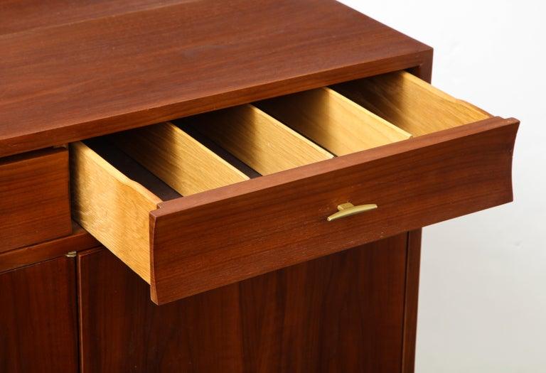 Mahogany Dunbar Credenza Sideboard by Edward Wormley For Sale