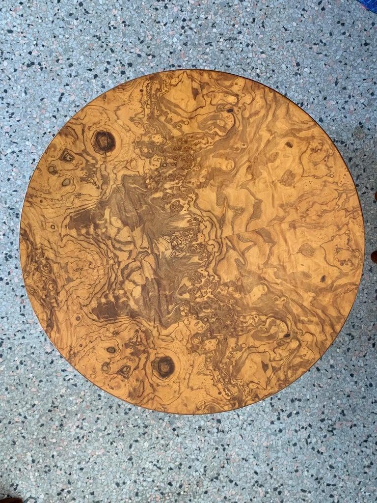 Dunbar Edward Wormley Bar Cabinet Olive Wood Burl For Sale 2